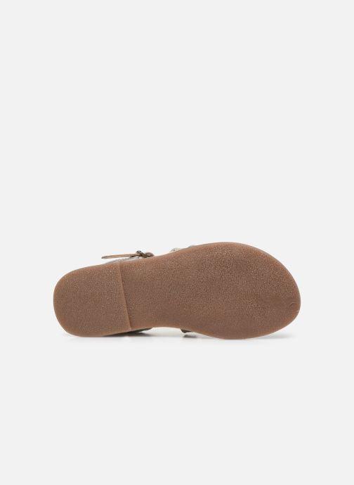 Sandales et nu-pieds Little Mary Barbade Argent vue haut