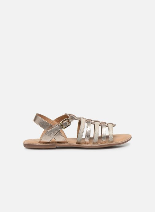 Sandalias Little Mary Barbade Oro y bronce vistra trasera