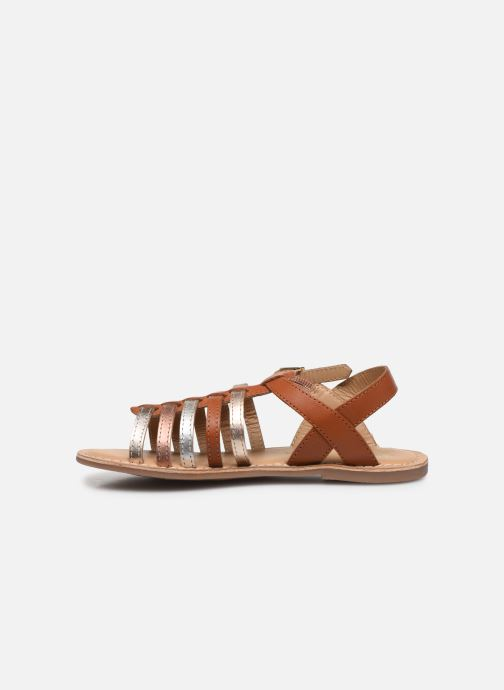 Sandales et nu-pieds Little Mary Barbade Marron vue face
