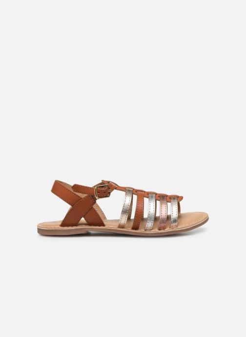 Sandales et nu-pieds Little Mary Barbade Marron vue derrière