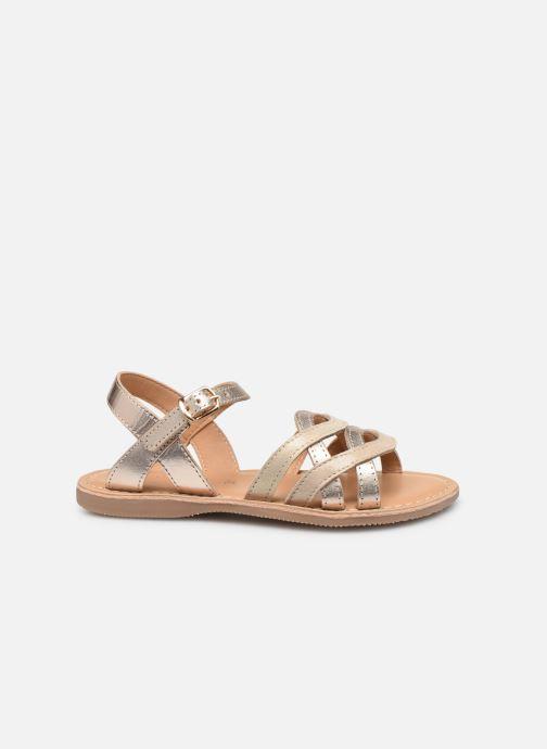 Sandales et nu-pieds Little Mary Grenade Or et bronze vue derrière