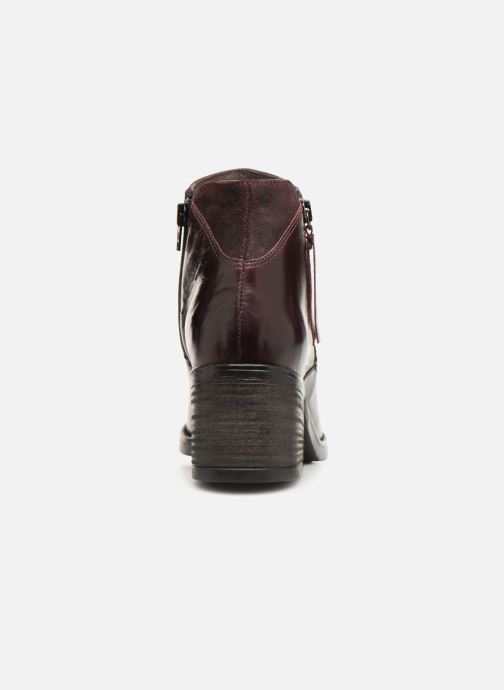 Ankle boots Jonak Milena Burgundy view from the right