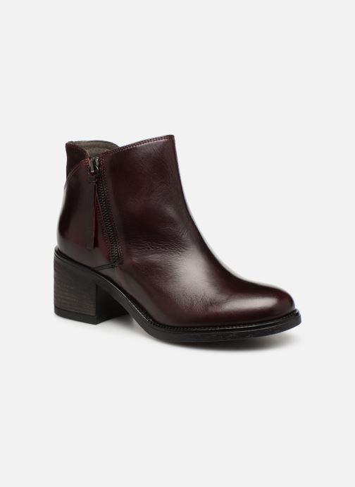 Ankle boots Jonak Milena Burgundy detailed view/ Pair view