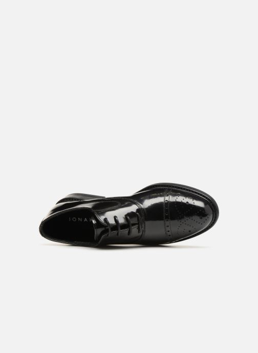 Lace-up shoes Jonak Tolla Black view from the left
