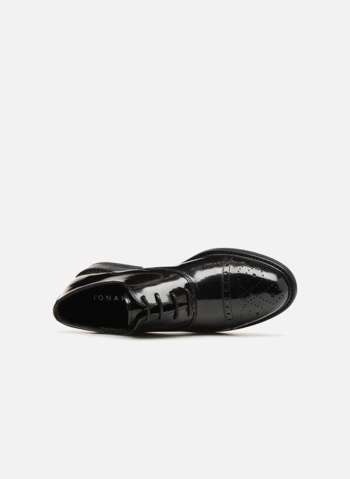 Zapatos con cordones Jonak Tolla Negro vista lateral izquierda