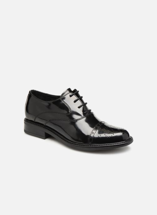 Lace-up shoes Jonak Tolla Black detailed view/ Pair view