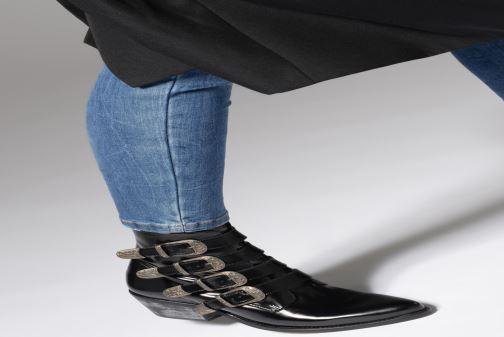 Bottines et boots Jonak Tuca Noir vue bas / vue portée sac