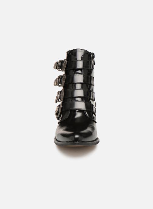 Bottines et boots Jonak Tuca Noir vue portées chaussures