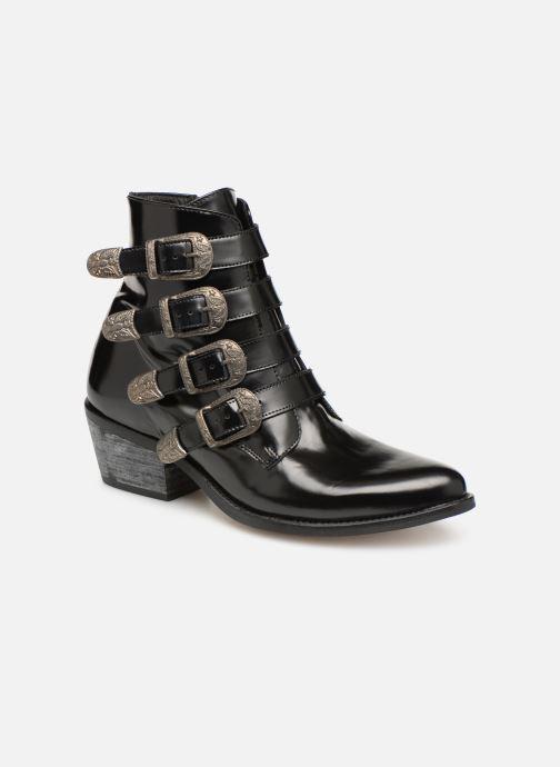 Bottines et boots Jonak Tuca Noir vue détail/paire
