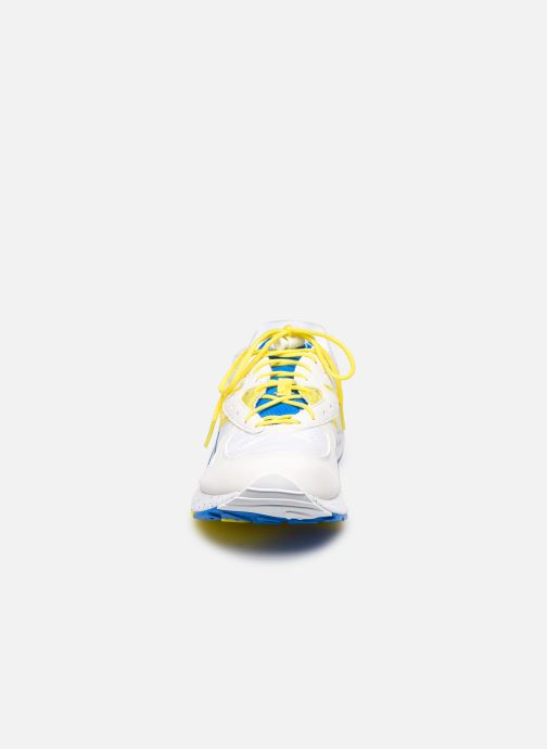 Baskets Saucony Aya Blanc vue portées chaussures