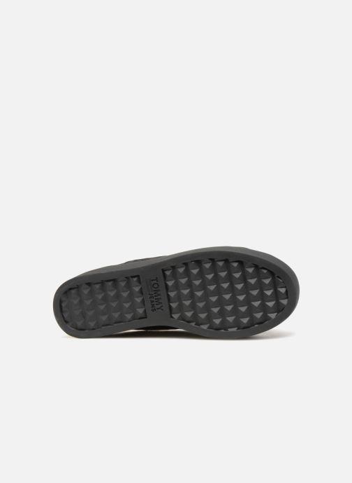 Sneakers Tommy Hilfiger TOMMY JEANS CRUSH VELVET SNEAKER Zwart boven