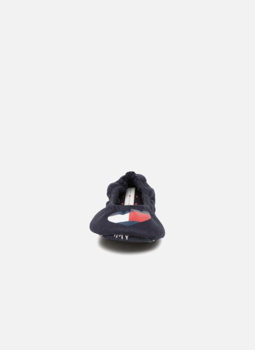 Hjemmesko Tommy Hilfiger COZY TRAVEL PACK SLIPPER Blå se skoene på
