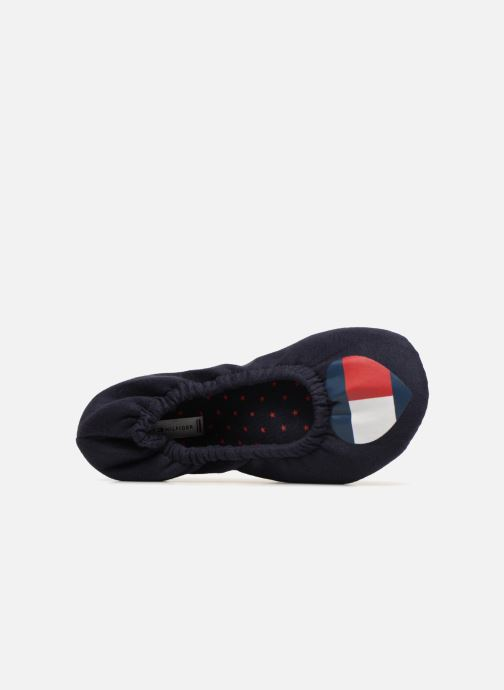 Pantoffels Tommy Hilfiger COZY TRAVEL PACK SLIPPER Blauw links