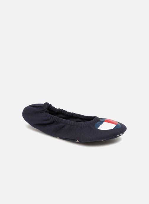 Chaussons Tommy Hilfiger COZY TRAVEL PACK SLIPPER Bleu vue détail/paire