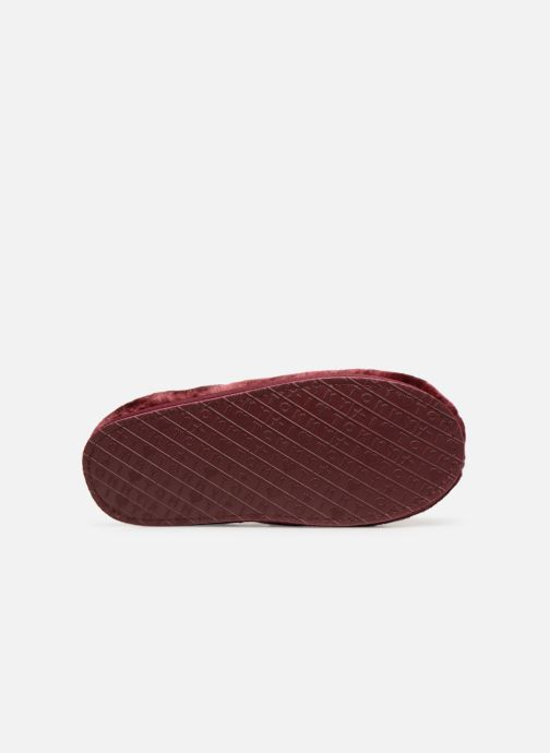 Chaussons Tommy Hilfiger LOVE TOMMY HOME SLIPPER Bordeaux vue haut