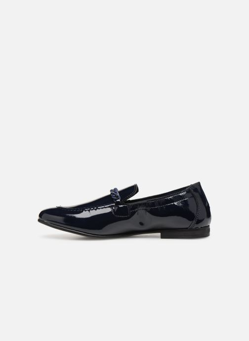 Mocassins Tommy Hilfiger RUBBERIZED CHAIN LOAFER Bleu vue face