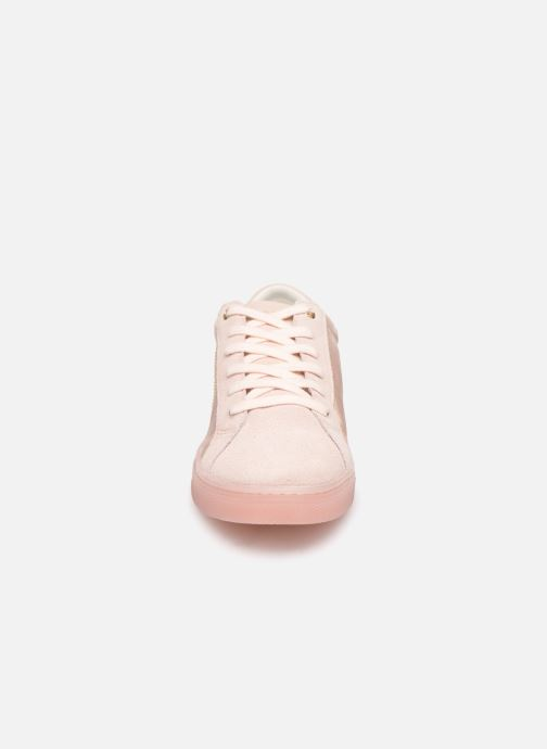 Trainers Tommy Hilfiger SPARKLE SATIN ESSENTIAL SNEAKER White model view