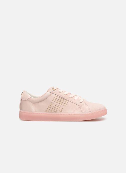 Sneakers Tommy Hilfiger SPARKLE SATIN ESSENTIAL SNEAKER Hvid se bagfra