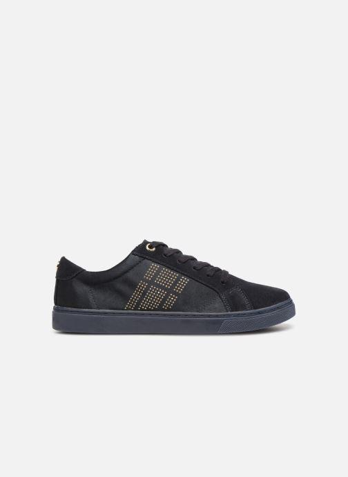 Sneakers Tommy Hilfiger SPARKLE SATIN ESSENTIAL SNEAKER Blå se bagfra