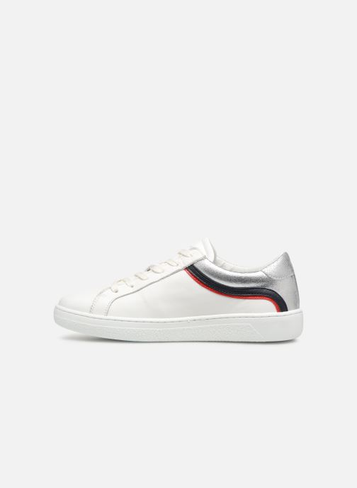 Baskets Tommy Hilfiger TOMMY ICONIC SNEAKER Blanc vue face