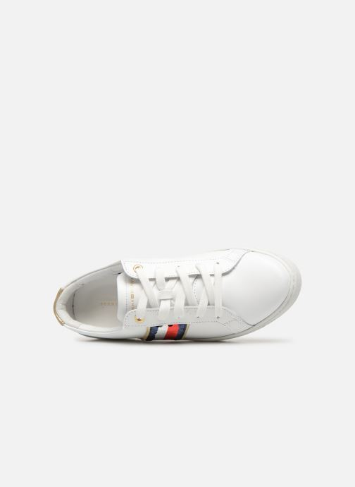 Baskets Tommy Hilfiger TOMMY SEQUINS FASHION SNEAKER Blanc vue gauche
