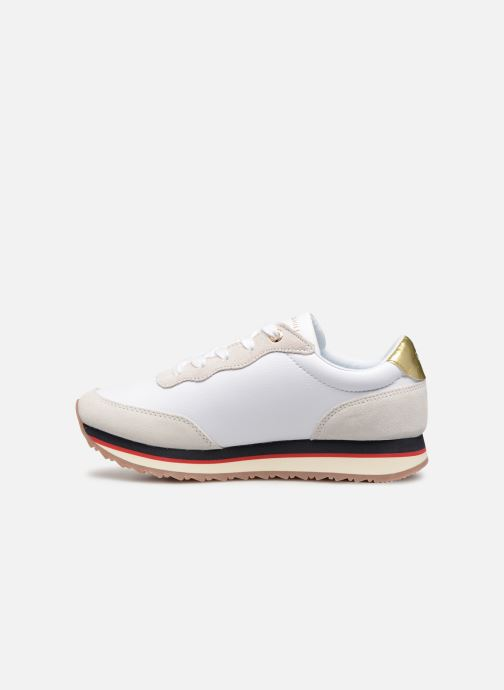 Baskets Tommy Hilfiger TOMMY SEQUINS RETRO RUNNER Multicolore vue face