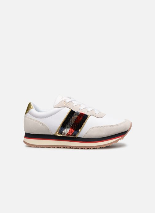 Baskets Tommy Hilfiger TOMMY SEQUINS RETRO RUNNER Multicolore vue derrière