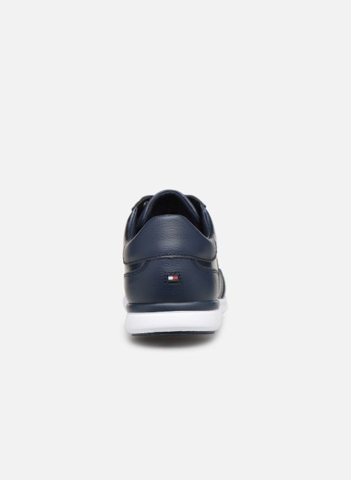 Baskets Tommy Hilfiger TOMMY ESSENTIAL LEATHER SNEAKER Bleu vue droite