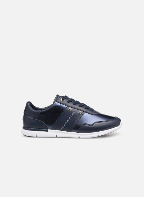 Baskets Tommy Hilfiger TOMMY ESSENTIAL LEATHER SNEAKER Bleu vue derrière