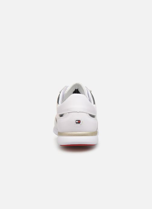 Baskets Tommy Hilfiger TOMMY ESSENTIAL LEATHER SNEAKER Argent vue droite
