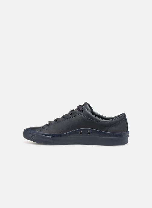Baskets Tommy Hilfiger CORPORATE LEATHER LOW SNEAKER Bleu vue face