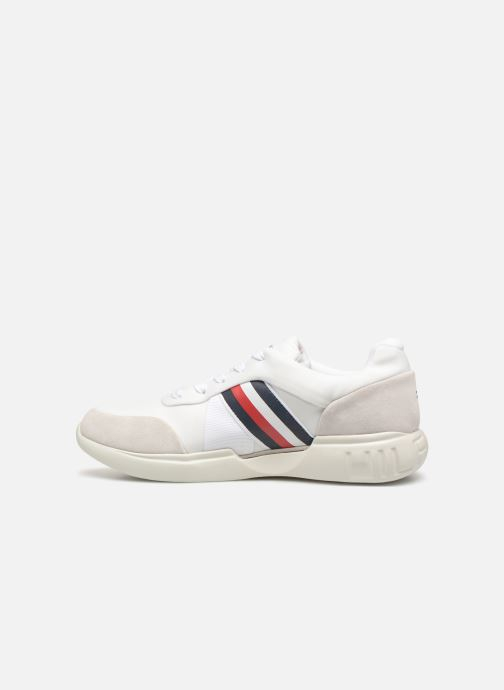 Sneakers Tommy Hilfiger LIGHWEIGHT CORPORATE RUNNER Wit voorkant