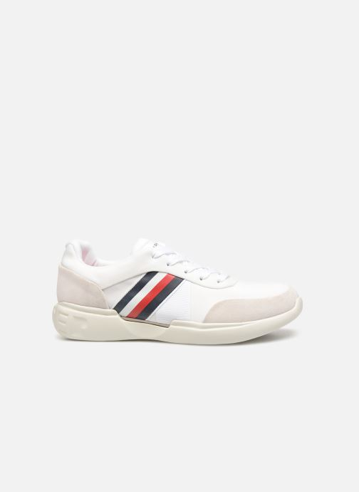Sneakers Tommy Hilfiger LIGHWEIGHT CORPORATE RUNNER Wit achterkant