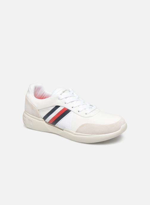 Sneakers Tommy Hilfiger LIGHWEIGHT CORPORATE RUNNER Wit detail