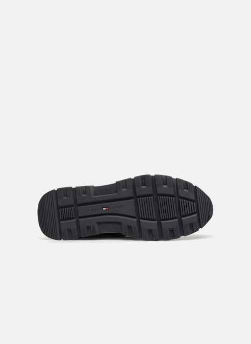 Sneakers Tommy Hilfiger MATERIAL MIX LIGHTWEIGHT RUNNER Blå se foroven
