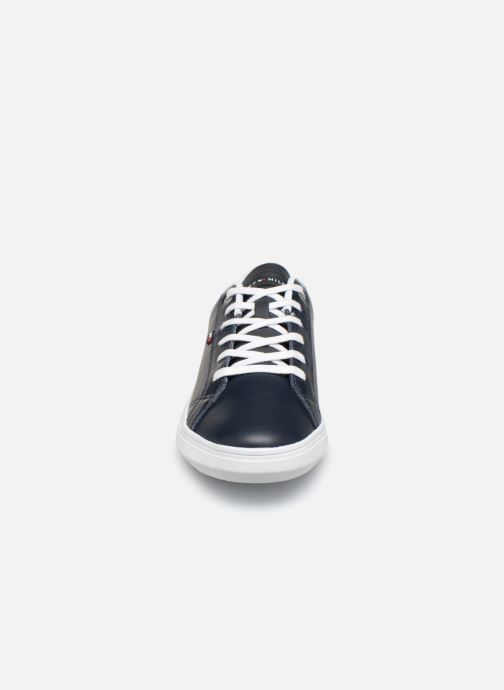 Sneakers Tommy Hilfiger ESSENTIAL LEATHER CUPSOLE Blauw model