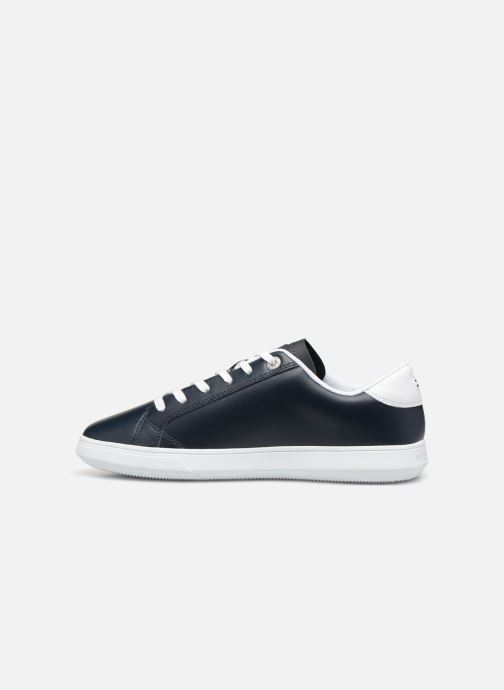 Sneakers Tommy Hilfiger ESSENTIAL LEATHER CUPSOLE Blauw voorkant