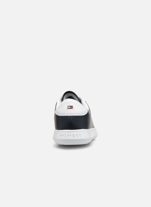 Sneakers Tommy Hilfiger ESSENTIAL LEATHER CUPSOLE Blauw rechts