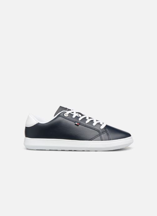 Sneakers Tommy Hilfiger ESSENTIAL LEATHER CUPSOLE Blauw achterkant