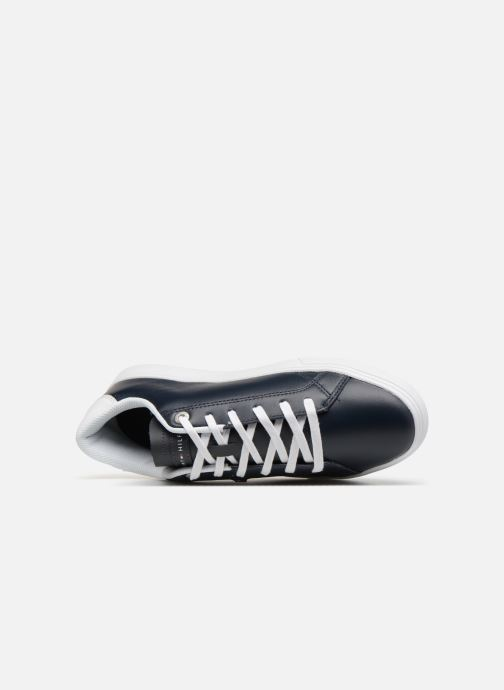 Sneakers Tommy Hilfiger ESSENTIAL LEATHER CUPSOLE Blauw links