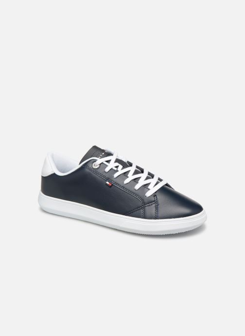 Sneakers Tommy Hilfiger ESSENTIAL LEATHER CUPSOLE Blauw detail
