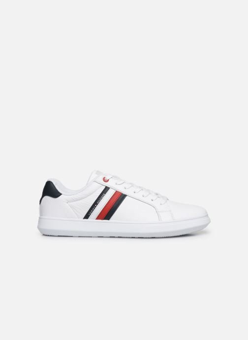 Trainers Tommy Hilfiger ESSENTIAL LEATHER CUPSOLE White back view