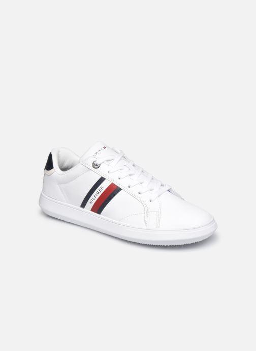 Sneaker Tommy Hilfiger ESSENTIAL LEATHER CUPSOLE weiß detaillierte ansicht/modell