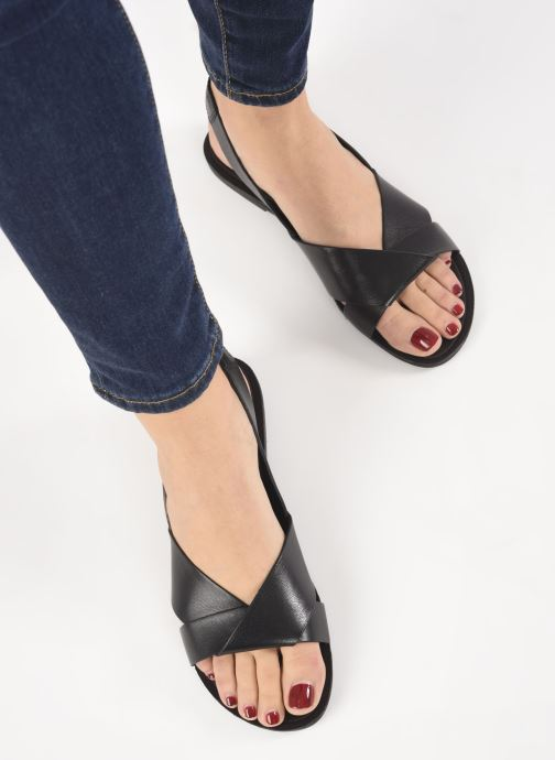 Sandals Vagabond Shoemakers Tia 4331-201 Black view from underneath / model view