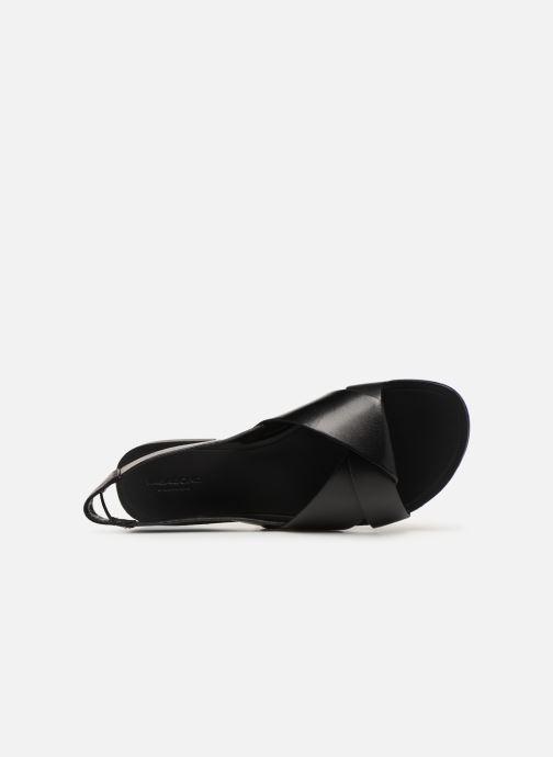 Sandalias Vagabond Shoemakers Tia 4331-201 Negro vista lateral izquierda