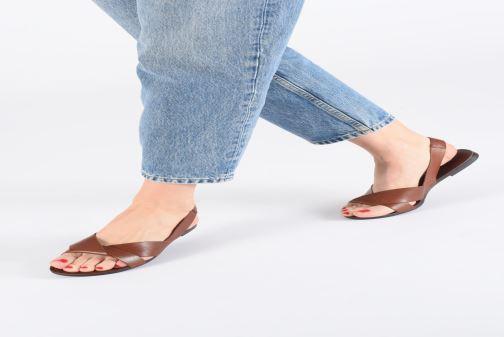 Sandales et nu-pieds Vagabond Shoemakers Tia 4331-201 Beige vue bas / vue portée sac