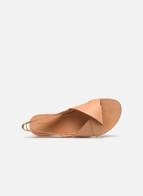 Sandals Vagabond Shoemakers Tia 4331-201 Beige view from the left