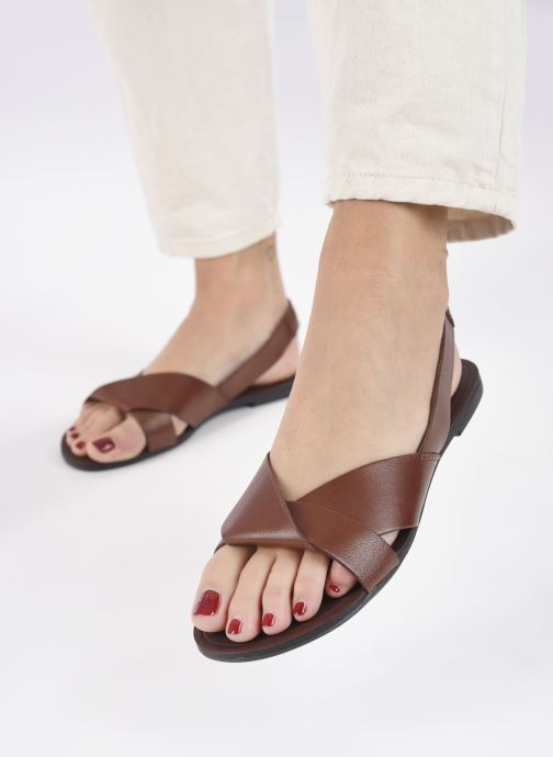 Sandals Vagabond Shoemakers Tia 4331-201 Brown view from underneath / model view