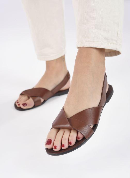 Sandales et nu-pieds Vagabond Shoemakers Tia 4331-201 Marron vue bas / vue portée sac