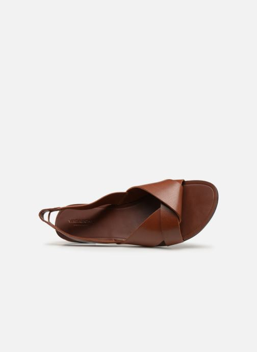 Sandals Vagabond Shoemakers Tia 4331-201 Brown view from the left